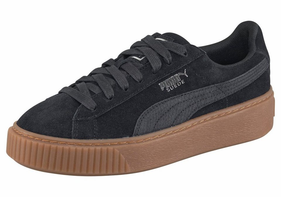 puma suede platform animal plateausneaker kaufen otto. Black Bedroom Furniture Sets. Home Design Ideas