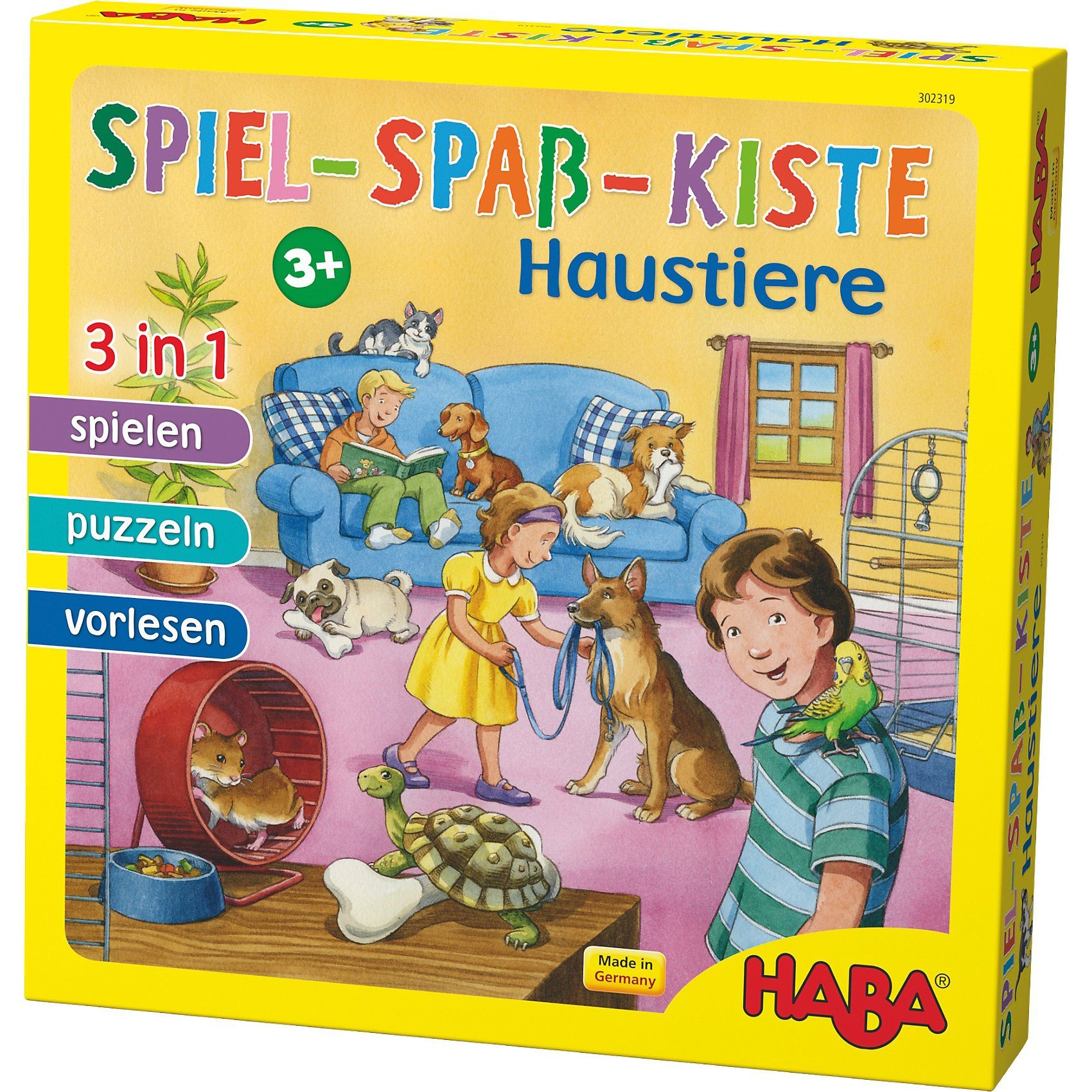 Haba Spiel-Spaß-Kiste Haustiere