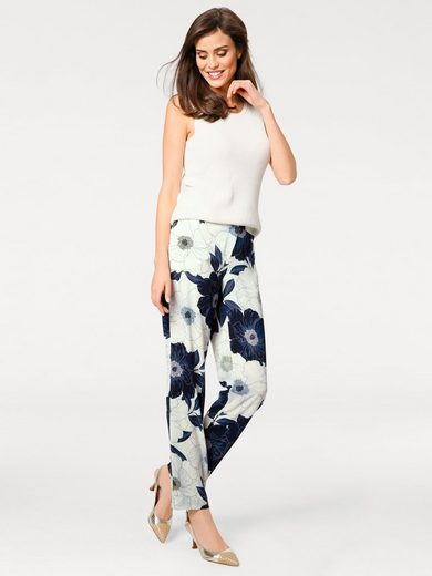 ASHLEY BROOKE by Heine Druckhose Blumen
