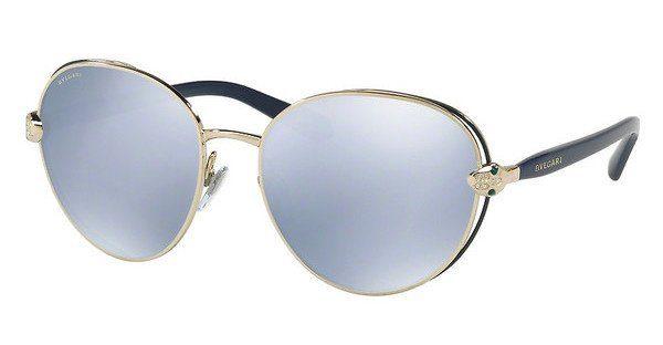 BVLGARI Bvlgari Damen Sonnenbrille » BV6087B«, blau, 20206J - blau/weiß