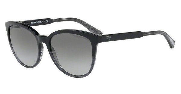 Emporio Armani Damen Sonnenbrille » EA4101«, braun, 556913 - braun/braun