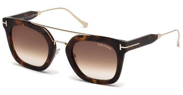 Tom Ford Sonnenbrille »Alex FT0541«, braun, 55U - havana/burgundy