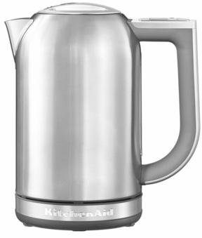 KitchenAid Wasserkocher 5KEK1722ESX, 1,7 Liter, 2400 Watt, Edelstahl