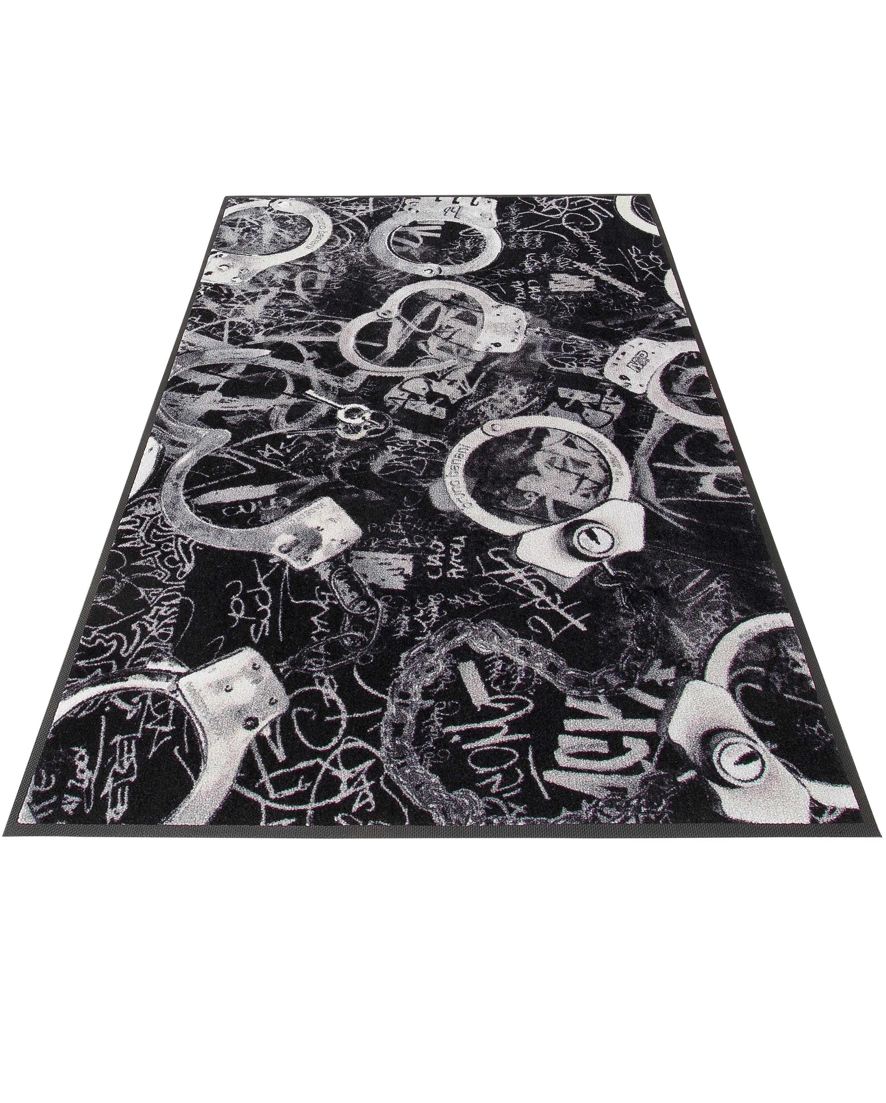 Teppich »Handschellen«, Bruno Banani, rechteckig, Höhe 9 mm