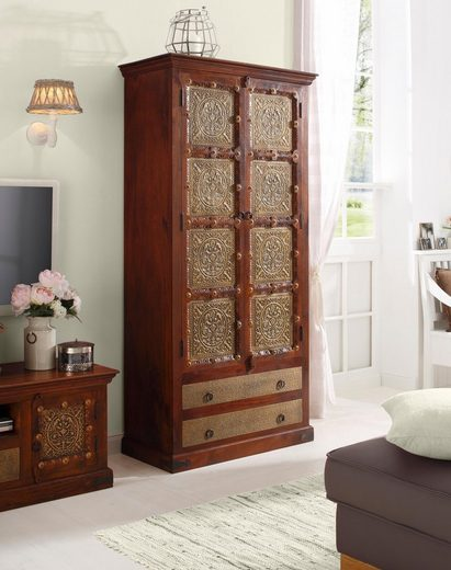 home affaire stauraumvitrine marco h he 190 cm otto. Black Bedroom Furniture Sets. Home Design Ideas