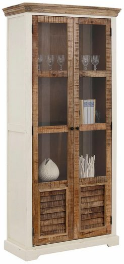 home affaire vitrine new orleans h he 190 cm otto. Black Bedroom Furniture Sets. Home Design Ideas