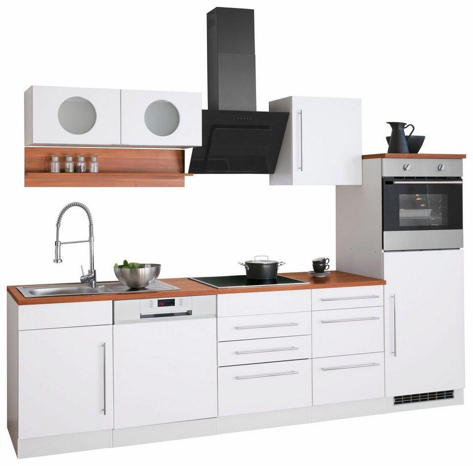 HELD MÖBEL Küchenzeile Keitum mit E Geräten, Breite 280