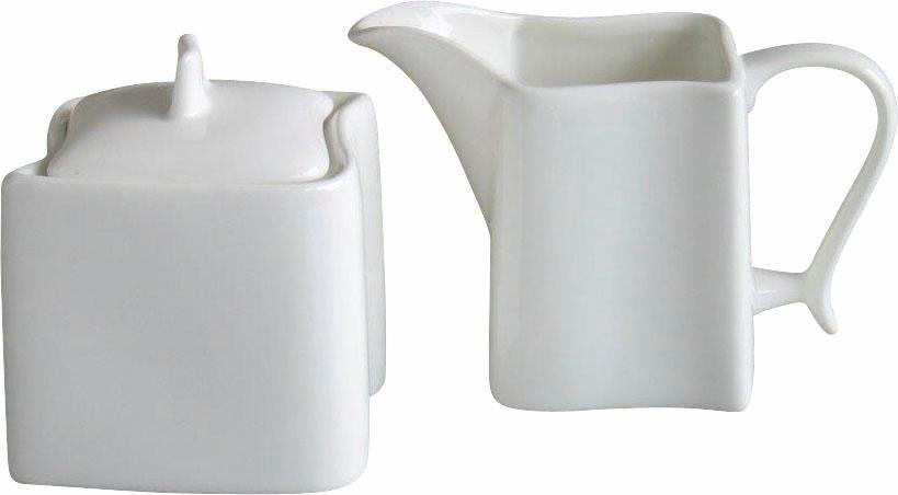 CreaTable Milch-/Zucker-Set, Porzellan, »Ocean« (2-teilig)