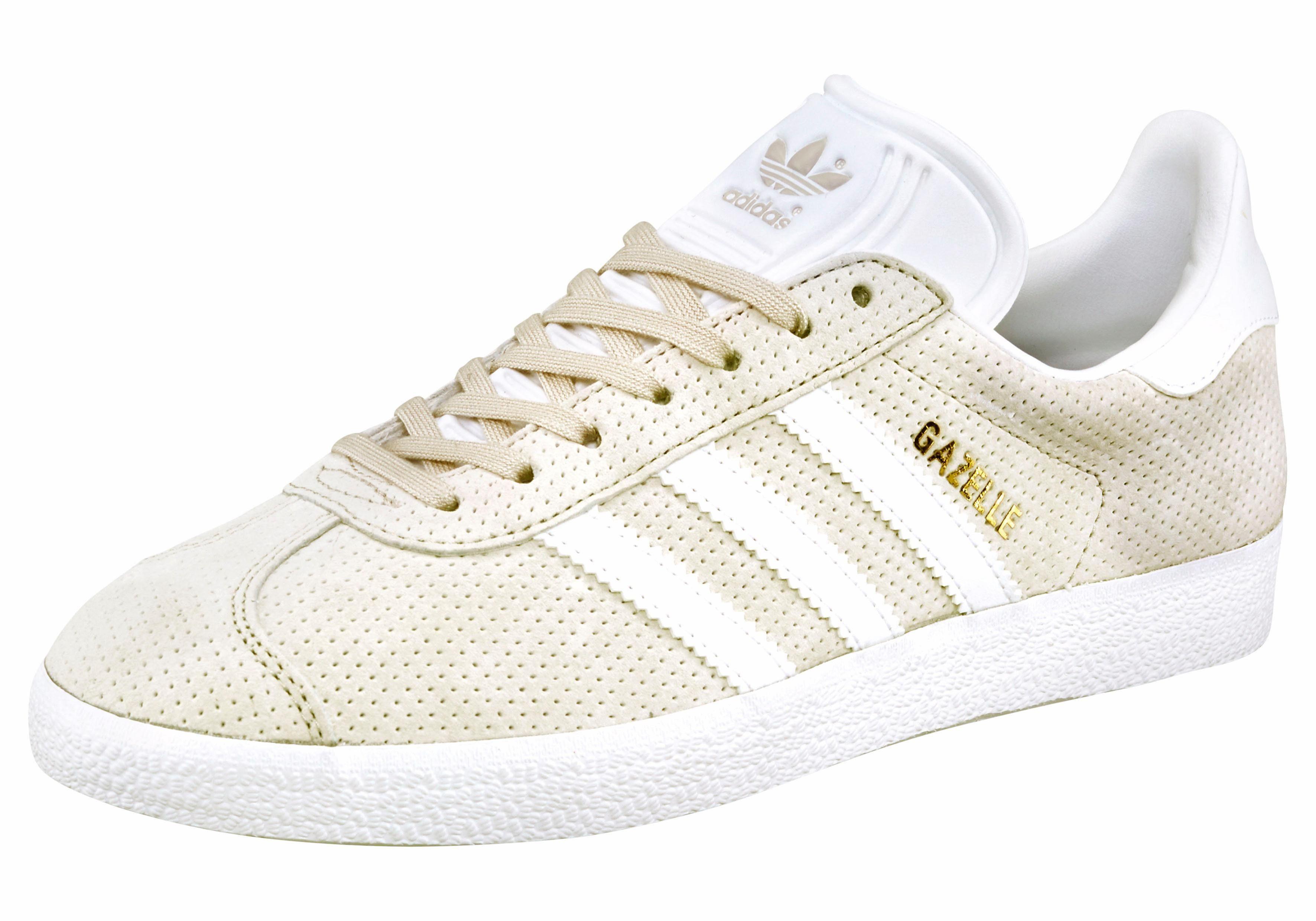 adidas Originals Gazelle W Sneaker online kaufen  beige-weiß