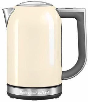 KitchenAid Wasserkocher 5KEK1722EAC, 1,7 Liter, 2400 Watt, crème