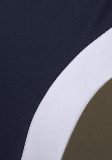 Chiemsee Boxer-Badehose mit Logoprint