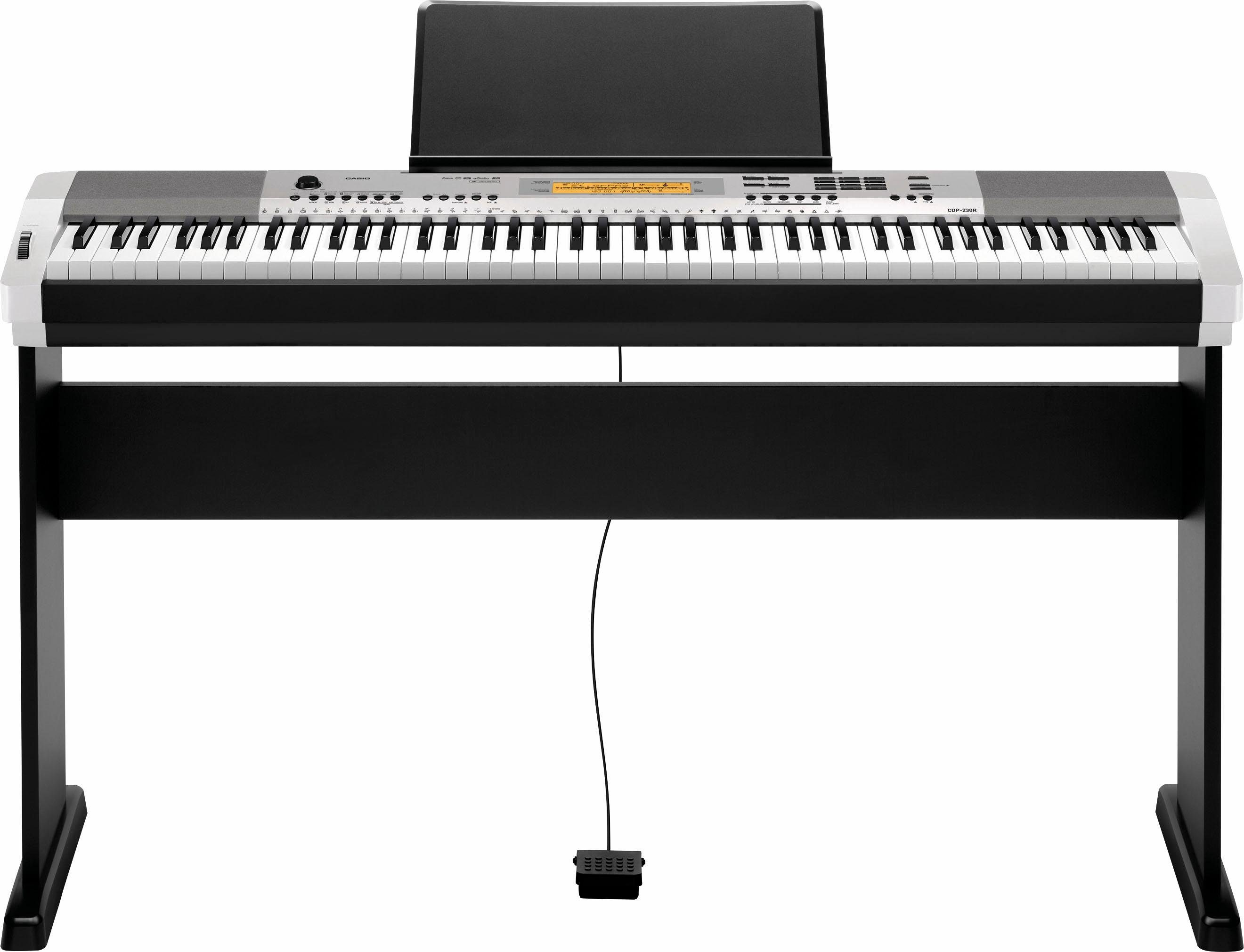 Casio® Compact Digital Piano, »CDP 230RSR Set«