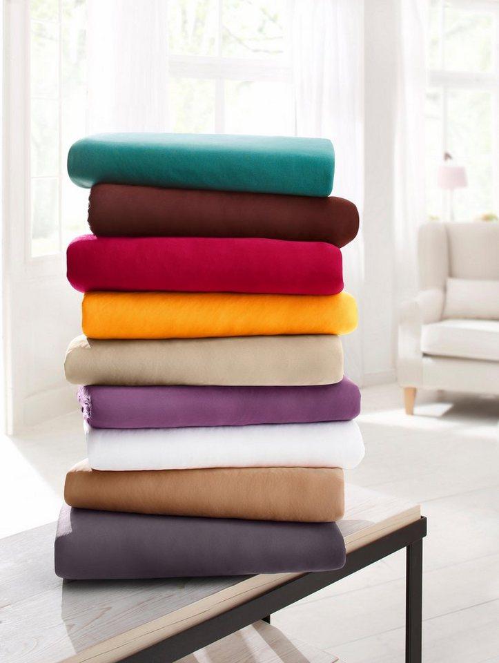 spannbettlaken microfaser my home schnell trocknend online kaufen otto. Black Bedroom Furniture Sets. Home Design Ideas