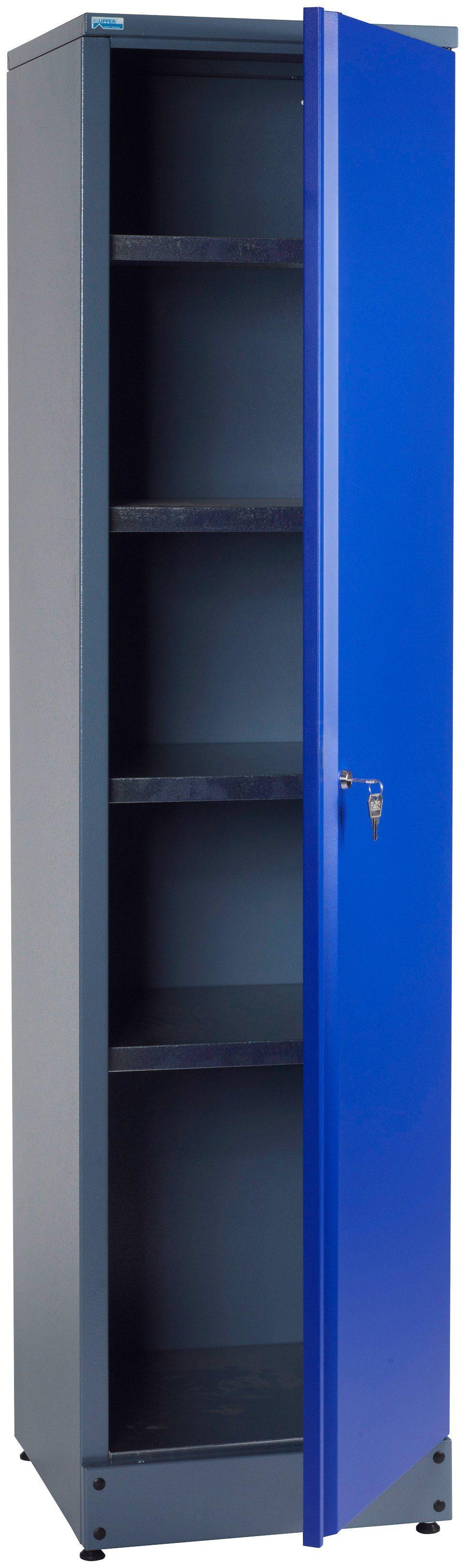 KÜPPER Hochschrank »1 Tür, 4 Einlegeböden, in ultramarinblau«