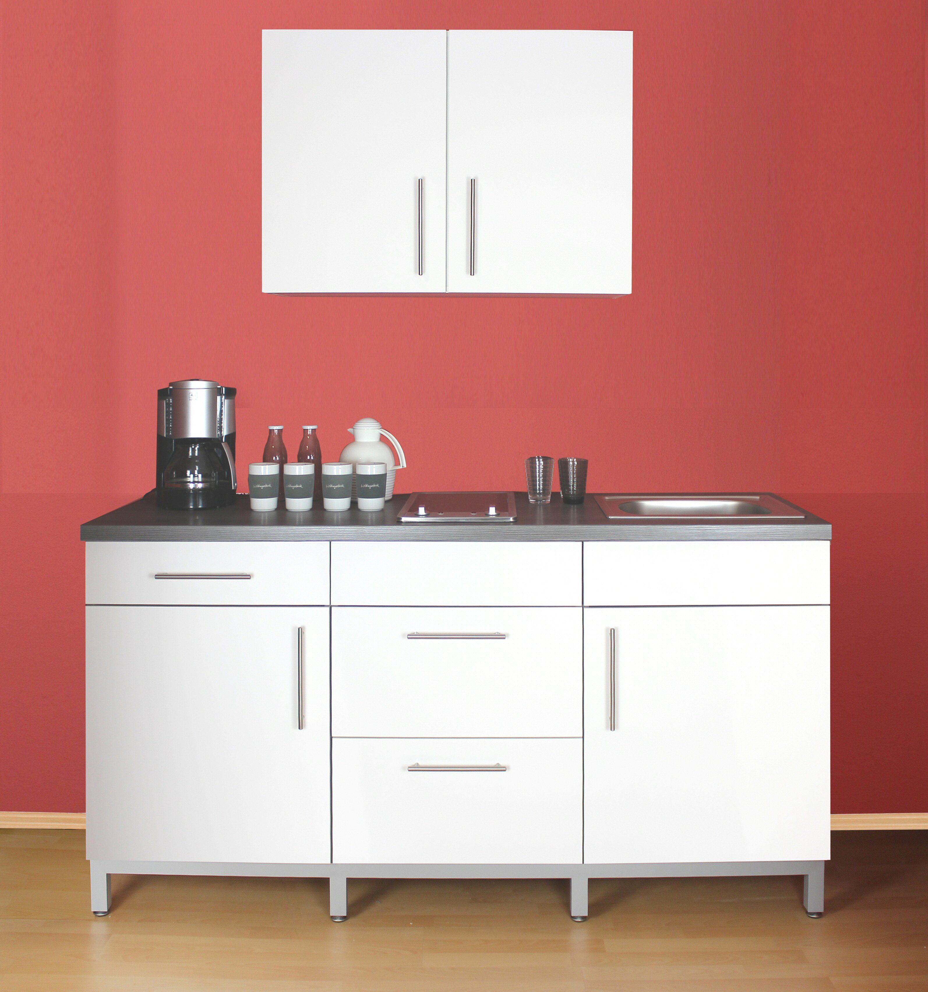 MENKE MÖBELWERKE Küchenzeile mit E-Geräten »Rack-Time Junior 180«