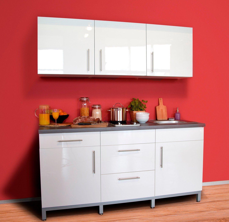 MENKE MÖBELWERKE Küchenzeile mit E-Geräten »Rack-Time I 180«