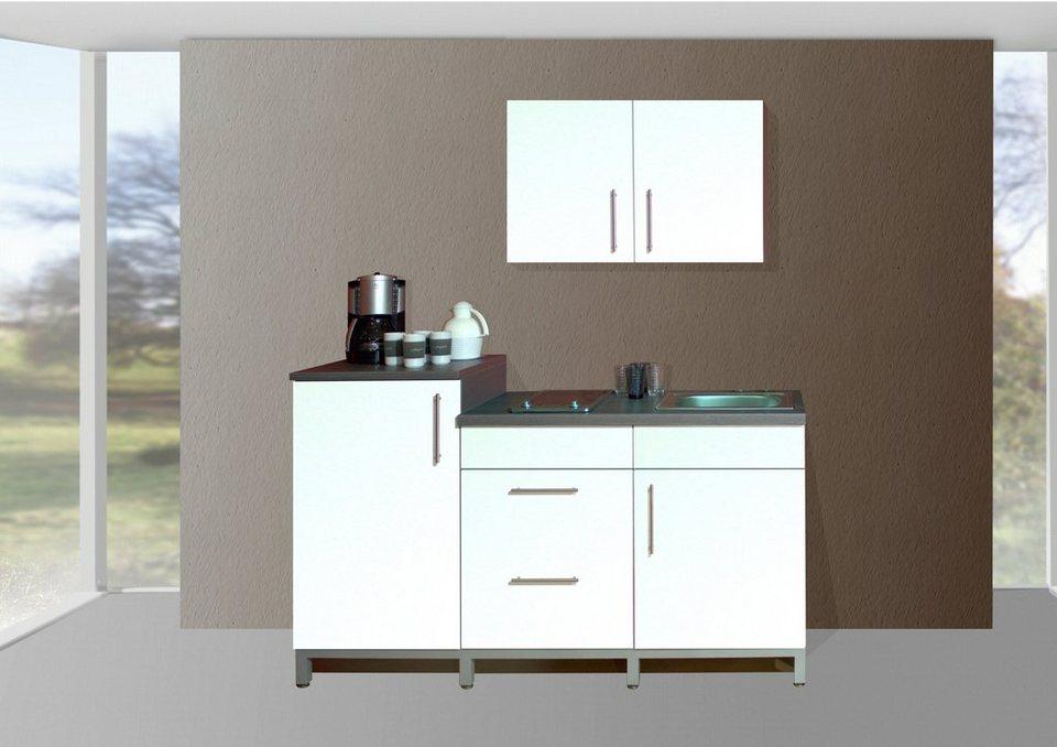 Menke Möbelwerke Küchenzeile Mit E Geräten Rack Time Single 180