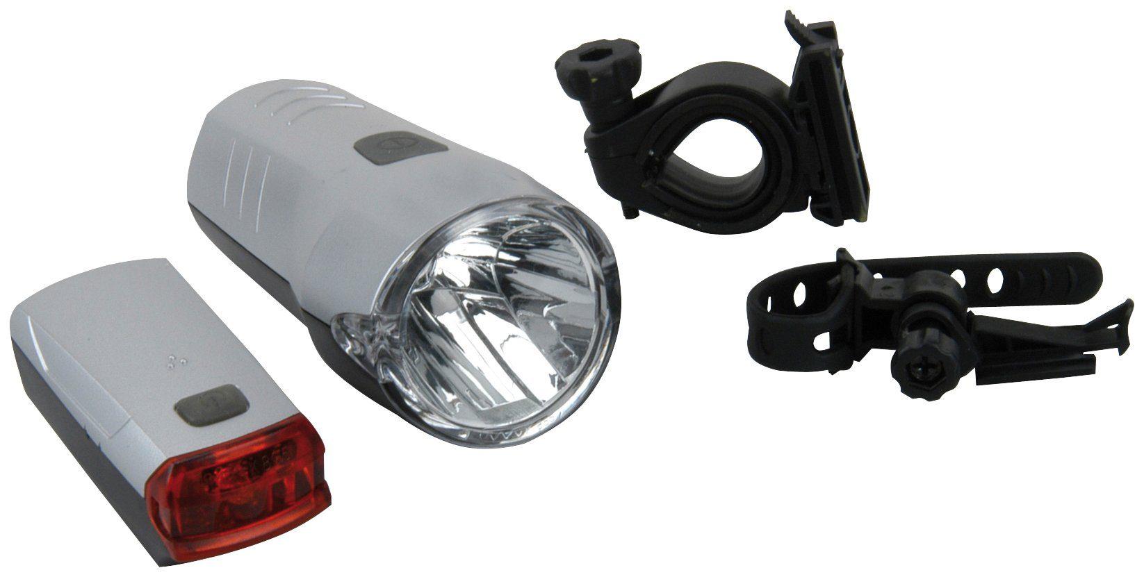 FISCHER FAHRRAEDER Fahrrad-Beleuchtungsset »20/10 Lux«