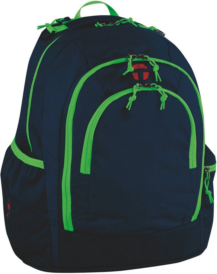 TAKE IT EASY® Schulrucksack, »Berlin, Navy Green«