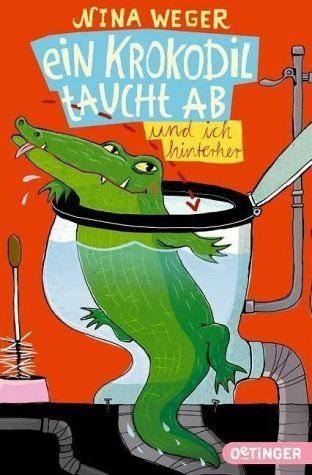 Broschiertes Buch »Ein Krokodil taucht ab und ich hinterher«