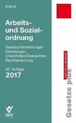 Broschiertes Buch »Arbeits- und Sozialordnung«