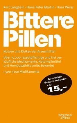 Broschiertes Buch »Bittere Pillen 2015-2017«