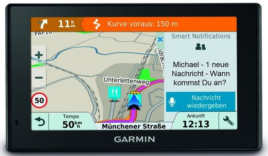 Garmin Navigationsgerät »DRIVE Smart 51 LMT-S EU«