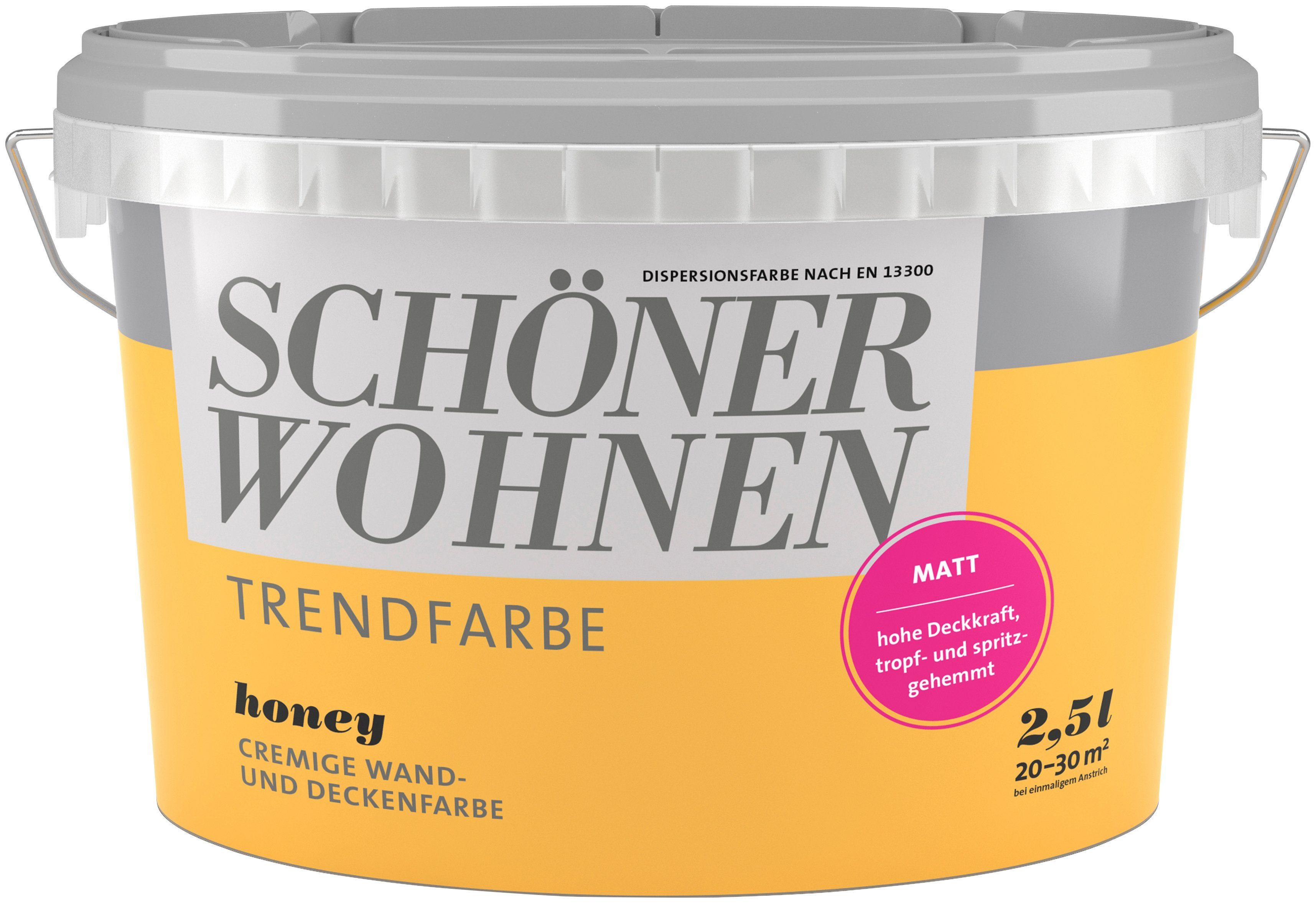 Schöner Wohnen Farbe Trendfarbe »honey«, matt