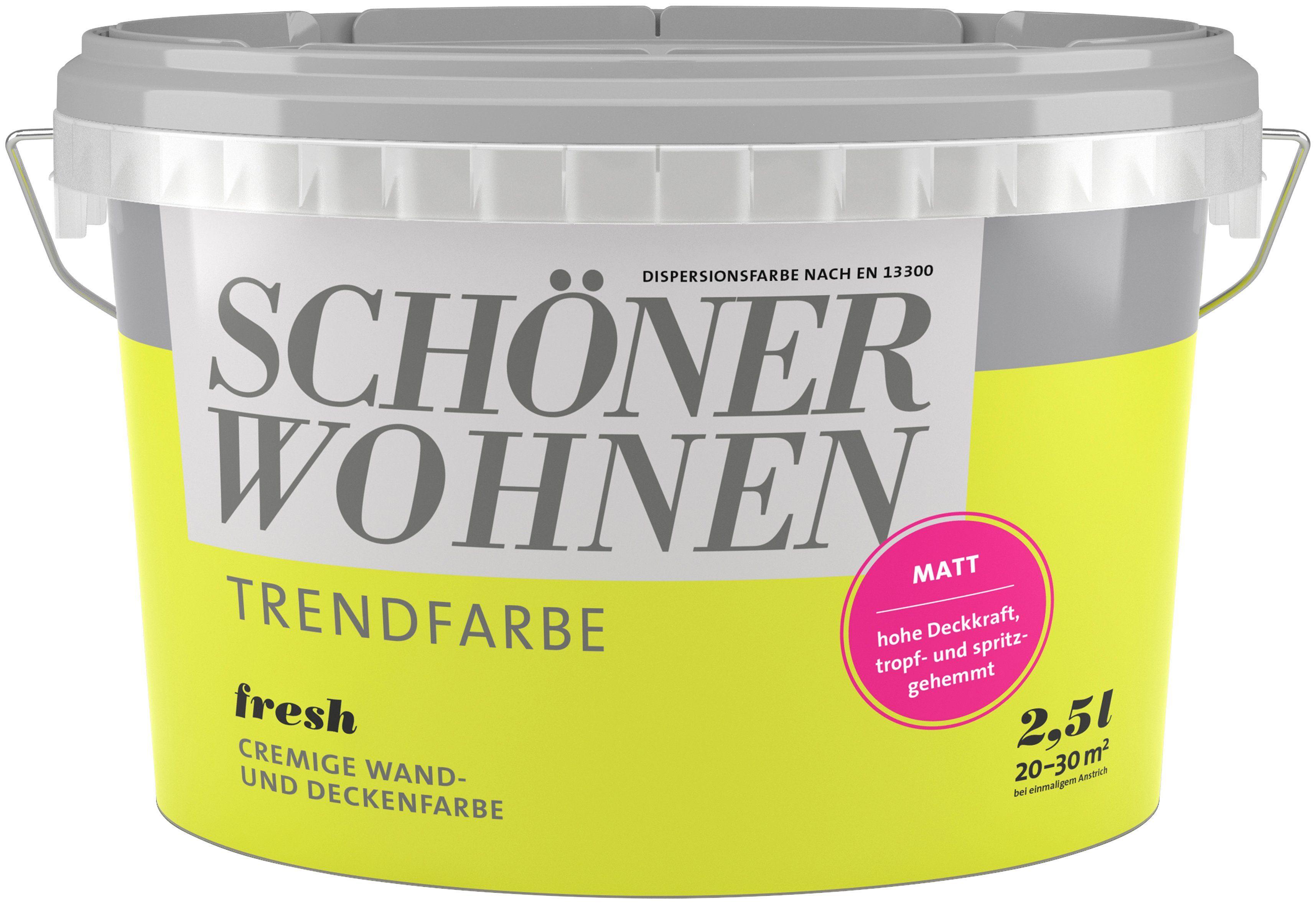 Schöner Wohnen Farbe Trendfarbe »fresh«, matt