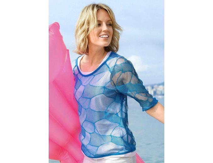 Collection L. Shirttop mit Rundhals-Ausschnitt Verkauf Fabrikverkauf Geschäft Rabatt Aus Deutschland eMhiYN