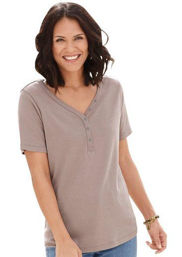 Collection L. Shirt mit herzförmigen Ausschnitt