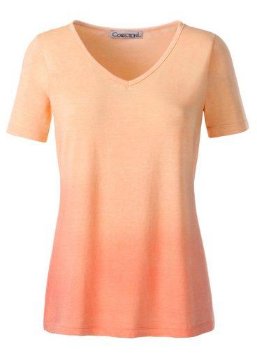 Collection L. Shirt mit V-Ausschnitt