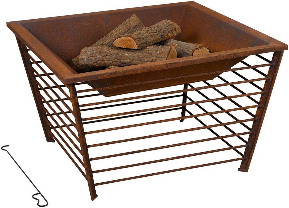 tepro feuerschale anchorage b t h 90 90 55 5 cm online. Black Bedroom Furniture Sets. Home Design Ideas