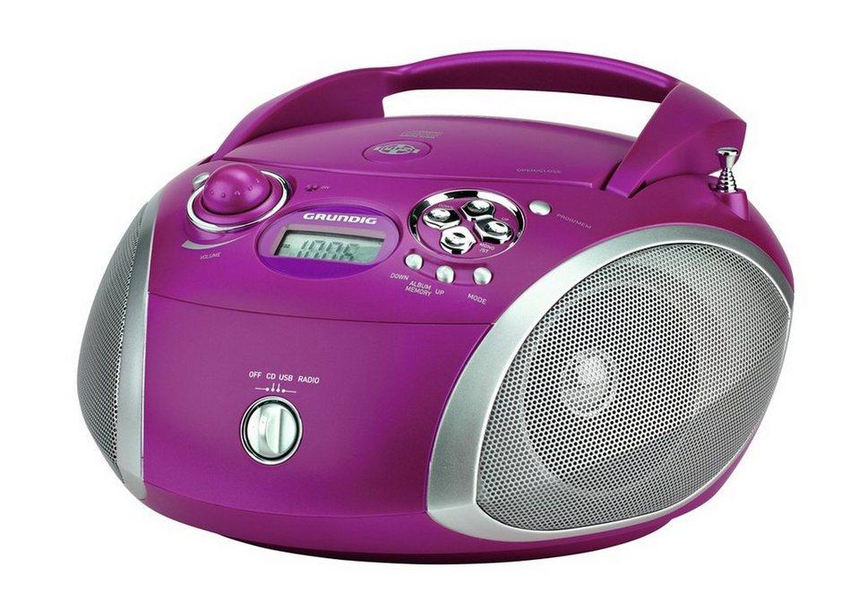 grundig radio mit cd player und mp3 wma wiedergabe rcd 1445 online kaufen otto. Black Bedroom Furniture Sets. Home Design Ideas