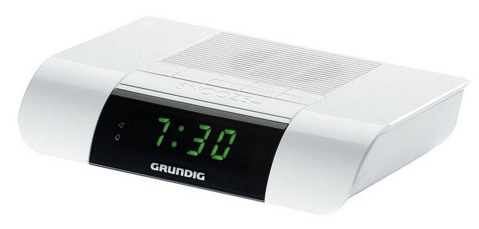 grundig uhrenradio mit ukw tuner und wecker ksc 35 online kaufen otto. Black Bedroom Furniture Sets. Home Design Ideas