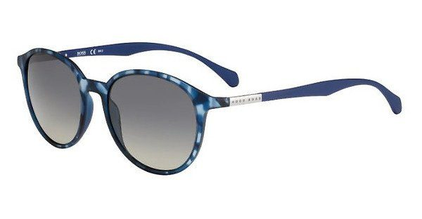 Boss Herren Sonnenbrille » BOSS 0822/S«, blau, YX2/XT - blau/blau