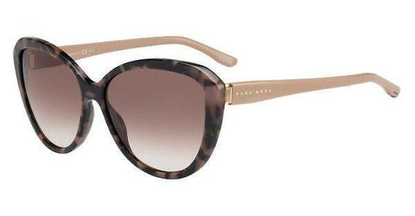 Boss Damen Sonnenbrille » BOSS 0845/S«, schwarz, 807/9C - schwarz/grau