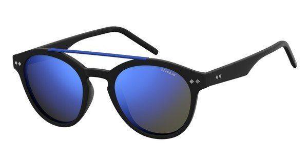 Polaroid Sonnenbrille » PLD 6030/S«, schwarz, 003/5X - schwarz/blau