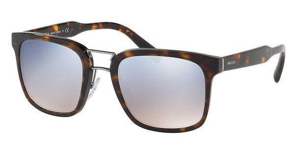 PRADA Prada Herren Sonnenbrille » PR 14TS«, braun, HAJ4S1 - braun/silber