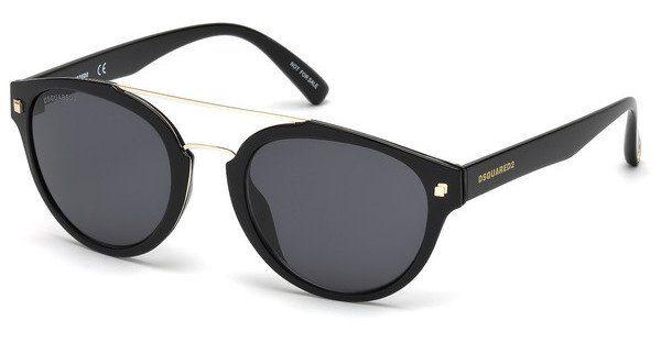 Dsquared2 Sonnenbrille » DQ0255«, gelb, 40J - gelb/braun