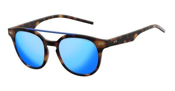 Polaroid Sonnenbrille » PLD 1023/S«, braun, 202/K7 - braun/grün