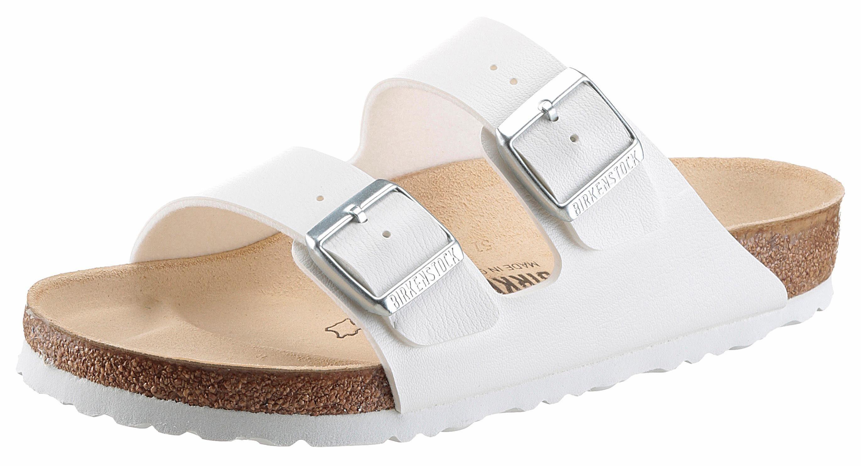 Birkenstock »MADRID« Pantolette, in schmaler Schuhweite, mit ergonomisch geformtem Fußbett, weiß, EURO-Größen, weiß