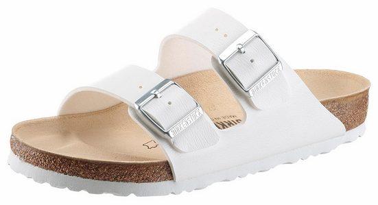 Birkenstock »ARIZONA BF« Pantolette in Schuhweite schmal, mit ergonomisch geformten Fußbett