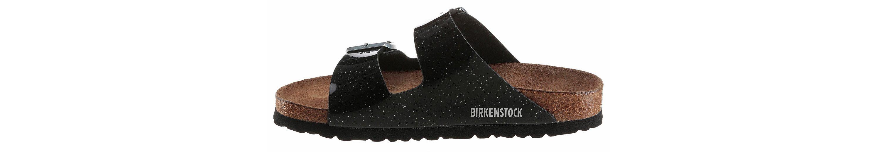 Birkenstock ARIZONA SFB Pantolette, in glitzernder Optik