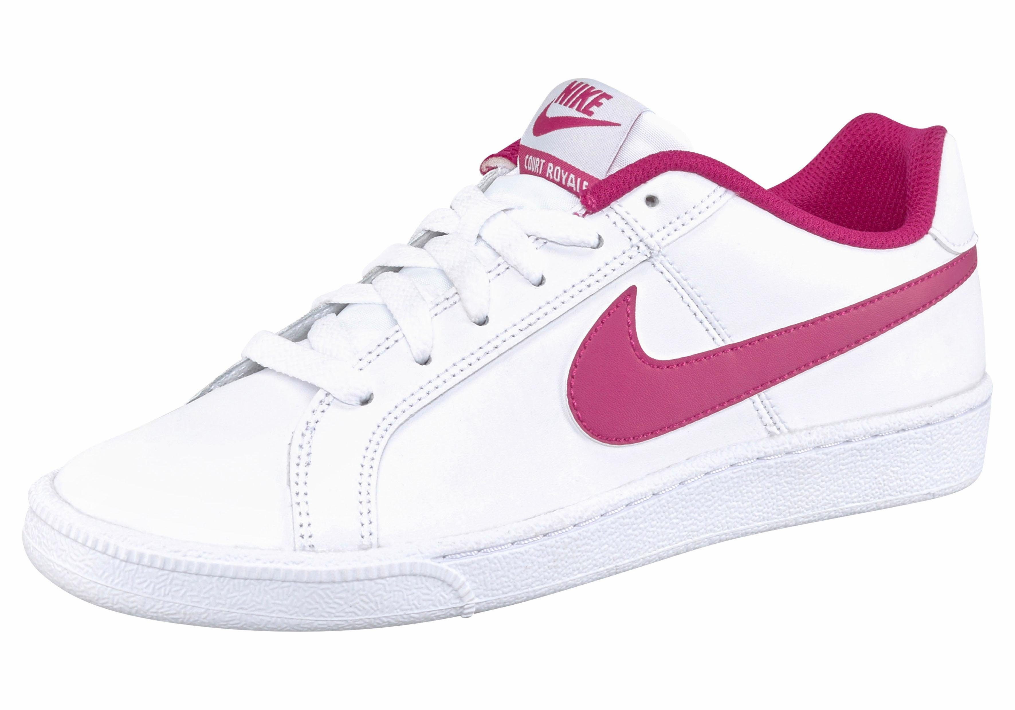 Nike Sportswear »Court Royale Wmns« Sneaker, weiß, weiß-schwarz
