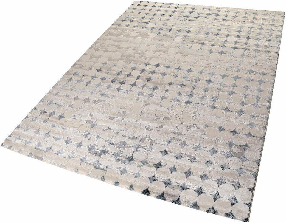 teppich velvet spots esprit rechteckig h he 12 mm online kaufen otto. Black Bedroom Furniture Sets. Home Design Ideas