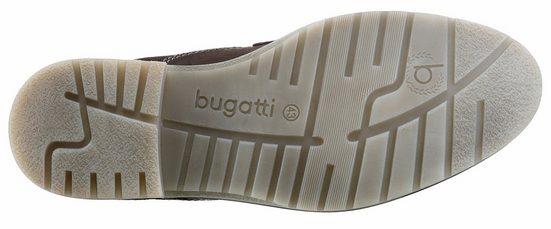 Bugatti Schnürboots, mit modischer Kontrastnaht