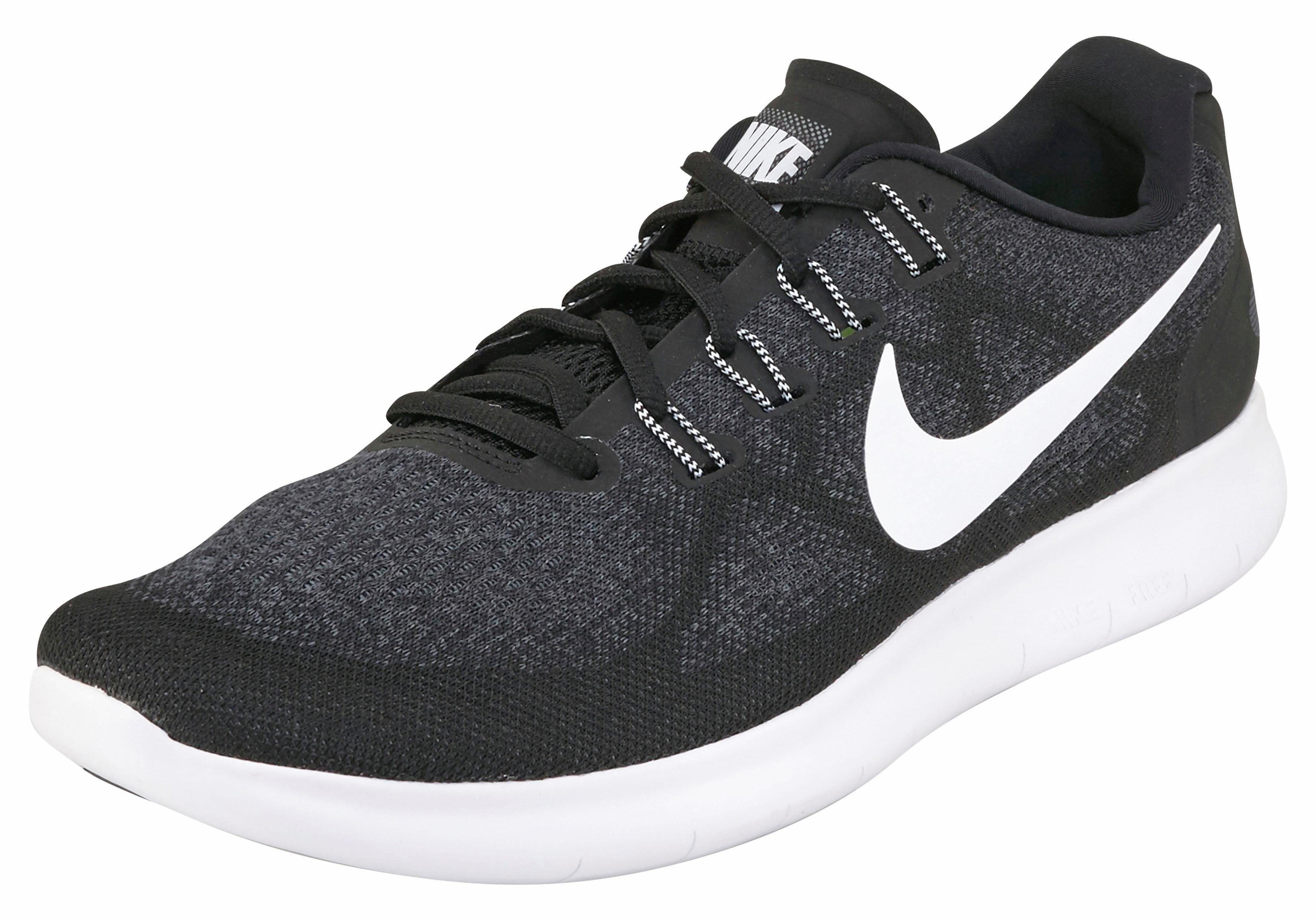 Nike »Free Run 2017« Laufschuh, Hoch flexible Gummilaufsohle mit ...
