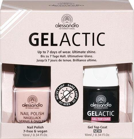 Alessandro International, »Gelactic Nail Set Nude«, Nagellack-Set