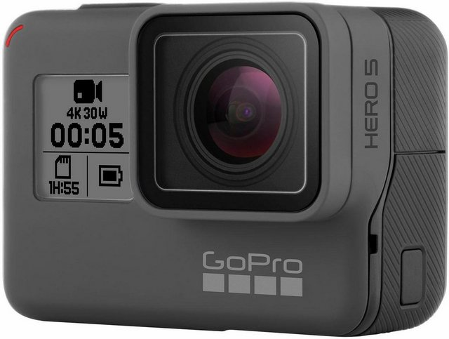 Action, Outdoorkameras - GoPro HERO5 Black 4K (Ultra HD) Actioncam, GPS, WLAN, Bluetooth  - Onlineshop OTTO